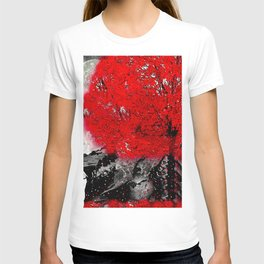 TREE RED WOLF T-shirt