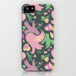 The powerful and pink spring is coming iPhone Case
