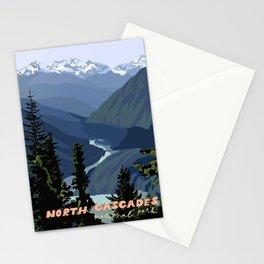 North Cascades National Park, Vintage Stationery Cards