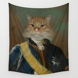 Colonel Tabby Wall Tapestry