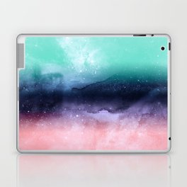 Modern watercolor abstract paint Laptop & iPad Skin