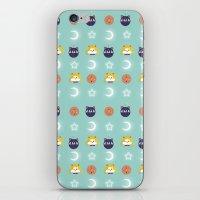 sailormoon iPhone & iPod Skins featuring SailorMoon MeyMey by Raimondo Tafuri