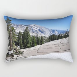 Olmsted Point, Tioga Pass, Yosemite National Park  Rectangular Pillow