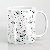 planets Mugs featuring PLANETS by Ana Depuntillas