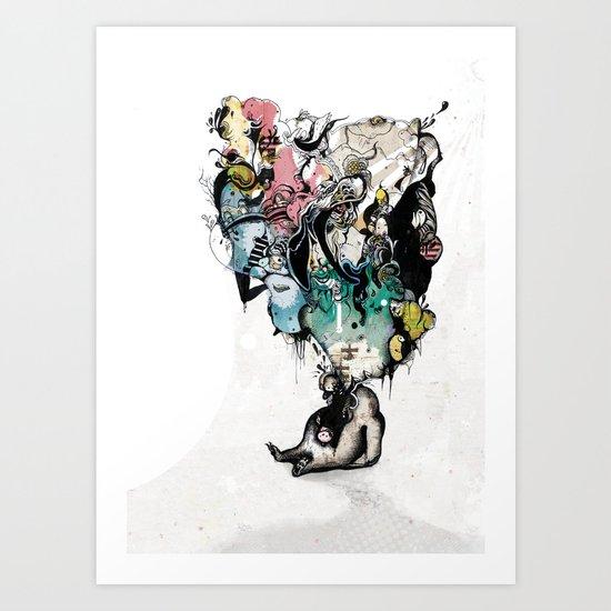 FatToy Idleness* Art Print