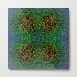 Eye for an Eye Metal Print