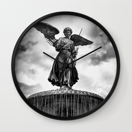 ANGEL OF THE WATERS Wall Clock