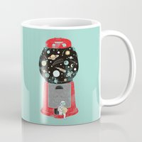 ilovedoodle Mugs featuring My childhood universe by I Love Doodle