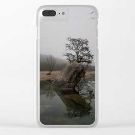 Serene Concan Clear iPhone Case