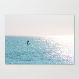 Paddleboard Canvas Print