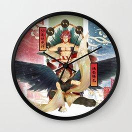 KiriBaku YouKai Version Wall Clock