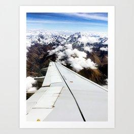 Cuzco Mountains Art Print