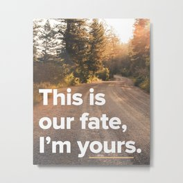 I'm Yours - Jason Mraz Metal Print