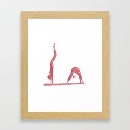 Capoeria Time Framed Art Print