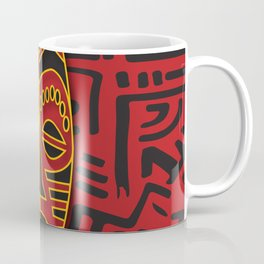 African Tribal Pattern No. 64 Coffee Mug