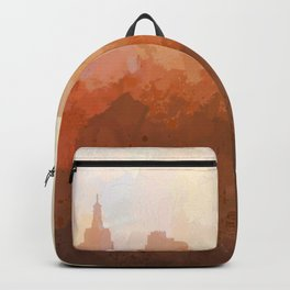 Las Vegas, Nevada Skyline - In the Clouds Backpack
