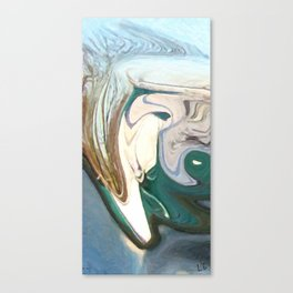 The Barely Muted Wrath of Oulixeus Canvas Print