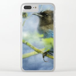Knowing It Has Wings Clear iPhone Case