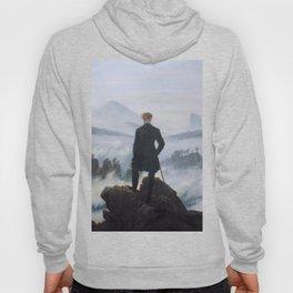 Wanderer above the Sea of Fog - Caspar David Friedrich Hoody