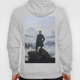 Wanderer above the Sea of Fog - Caspar David Friedrich Hoody