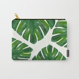 Monstera Carry-All Pouch