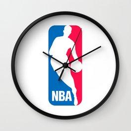 NBA logo Wall Clock