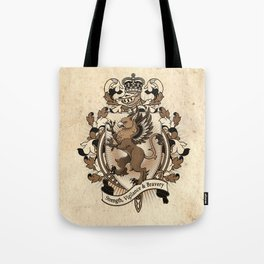 Gryphon Coat Of Arms Heraldry Tote Bag