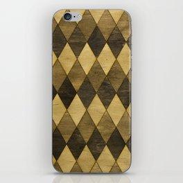 Wooden Diamonds iPhone Skin