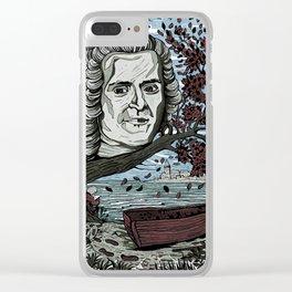 Rousseau Jean Jacques Clear iPhone Case