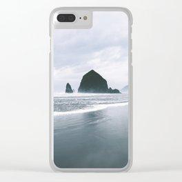 Cannon Beach VI Clear iPhone Case