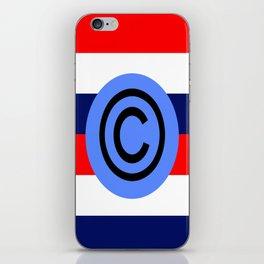 copyright usa iPhone Skin