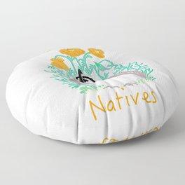California Natives Floor Pillow