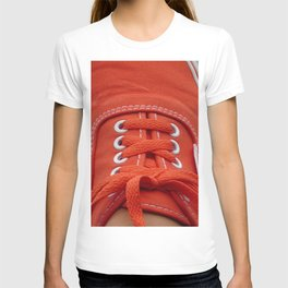 Red Sneaker T-shirt