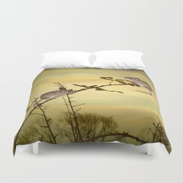Two Small Mice Duvet Cover