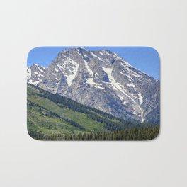 Grand Tetons Mountain and Slope Bath Mat