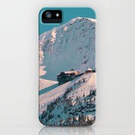Mt. Alyeska Ski Resort - Alaska iPhone Case