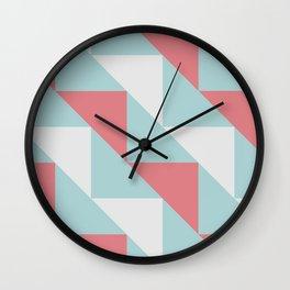 Triangle Fun Wall Clock