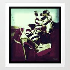 Shoes - Louboutin III Art Print
