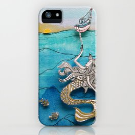 A Helping Hand! iPhone Case
