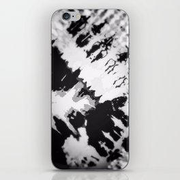 Traditional Black and White iPhone Skin