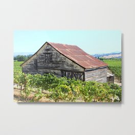 Wine Country Sonoma Metal Print