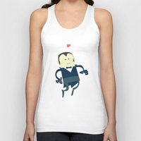 vampire diaries Tank Tops featuring The vampire love by thinkgabriel