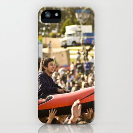Slam Sur un Bateau // Crowd Boating, Falls Festival - Australie/Australia  iPhone Case