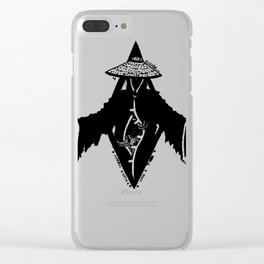 Across Space and Time Clear iPhone Case