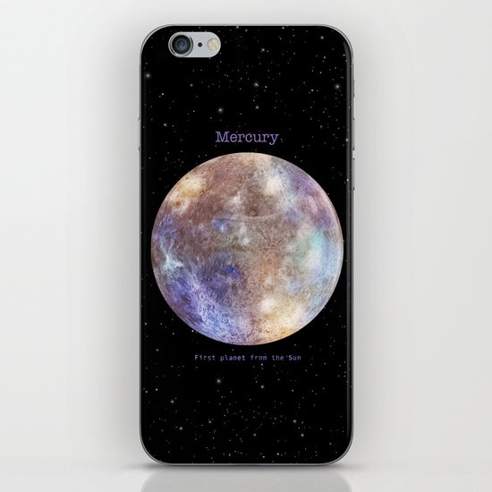Mercury iPhone & iPod Skin