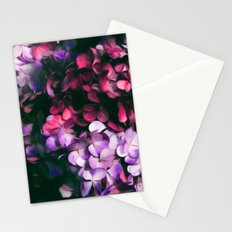 Hydrangea pattern II Stationery Cards