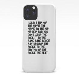 RAPPERS DELIGHT Hip Hop CLASSIC MUSIC iPhone Case