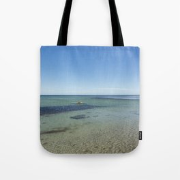 Shallow Waters At Danish Bornholm Island Tote Bag