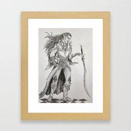 Prince Iltharis Framed Art Print