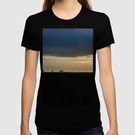 Landscape photography of safari dawn with clouds and trees in Kenya T-shirt